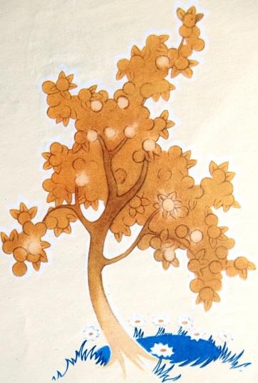Sūniņa ilustrācija pasaka - Zelta ābele un sudraba avots