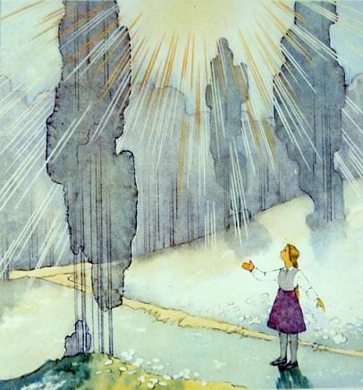 Viena no Kārļa Sūniņa Saules dainu ilustrācijām